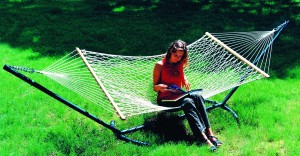 Single XL |Single Person Use|11ft Cotton Rope Hammock