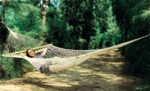 Single |Single Person Use|11ft Cotton Rope Hammock