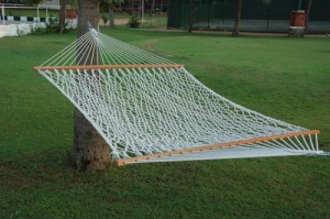 Single X |Single Person Use|11ft Cotton Rope Hammock